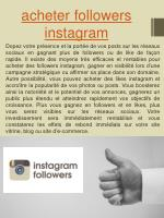 acheter followers instagram1