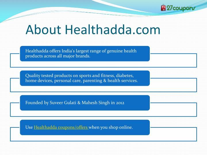 About Healthadda.com