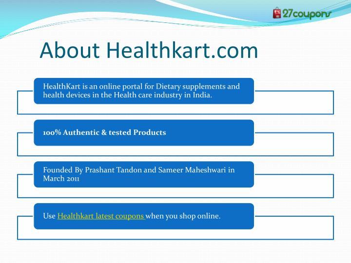 About Healthkart.com