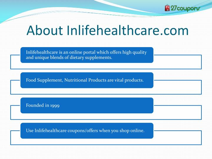 About Inlifehealthcare.com