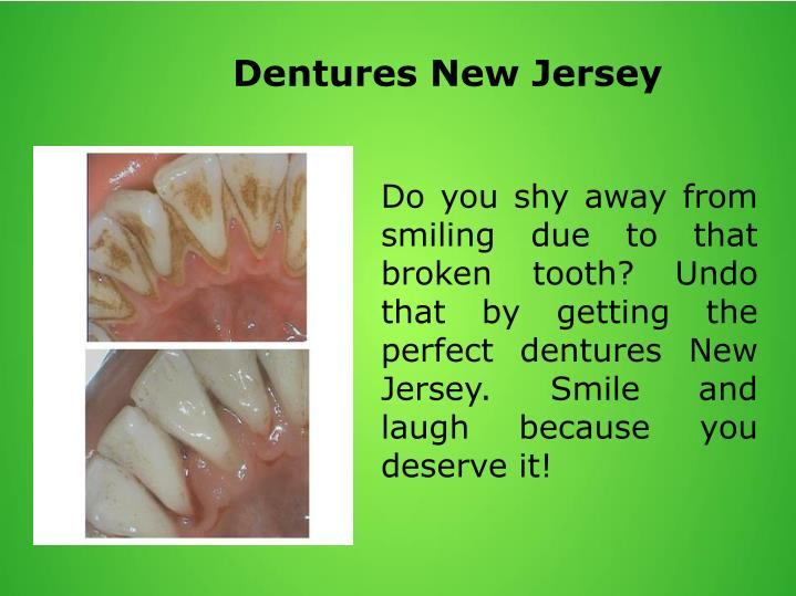 Dentures New Jersey