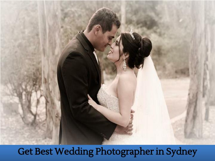 Get Best Wedding Photographer in Sydney