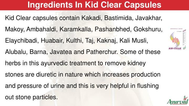 Ingredients In Kid