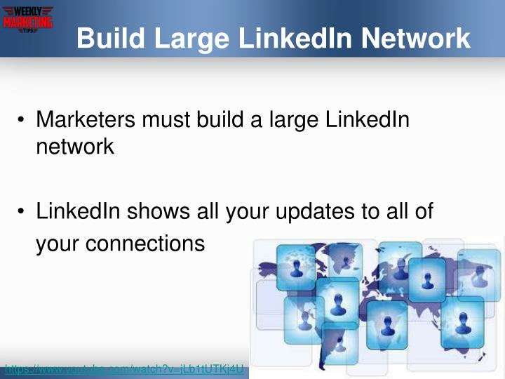 Build large linkedin network