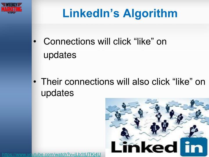 LinkedIn's Algorithm