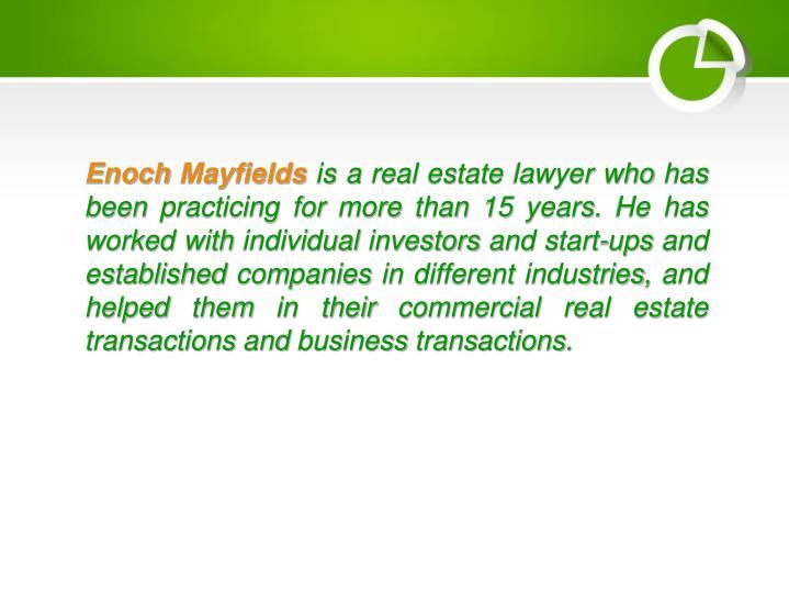 Enoch Mayfields