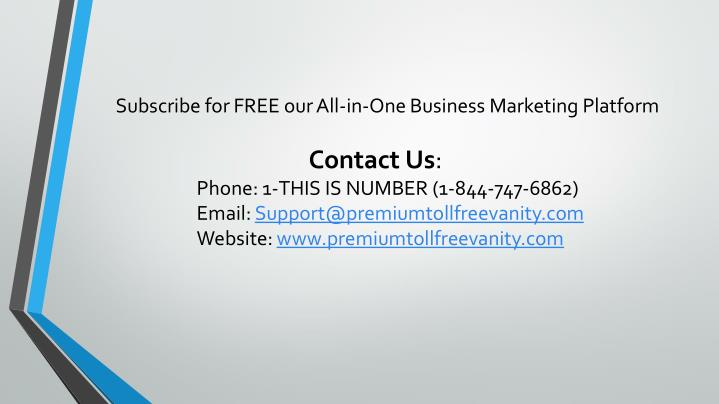 Subscribe for FREE our All-in-One Business Marketing Platform