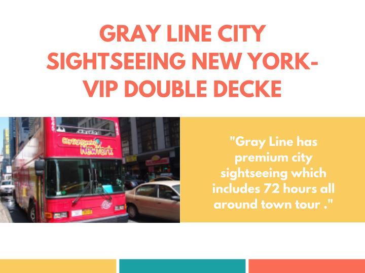 GRAY LINE CITY