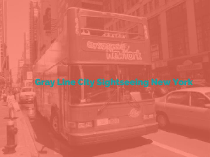 Gray Line City Sightseeing New York
