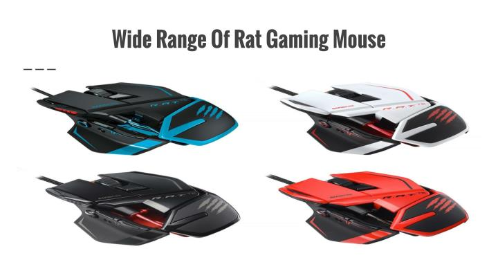 Wide Range Of Rat Gaming Mouse