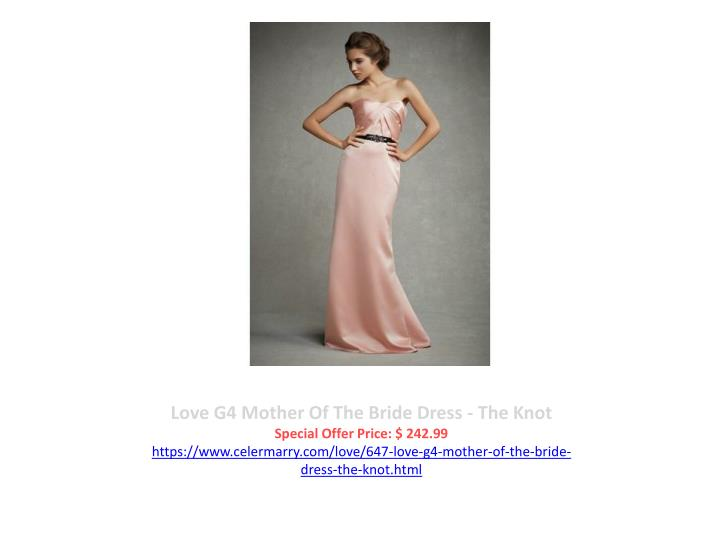 Love G4 Mother Of The Bride Dress - The Knot