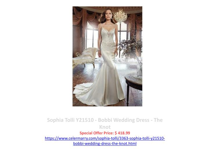 Sophia Tolli Y21510 - Bobbi Wedding Dress - The Knot