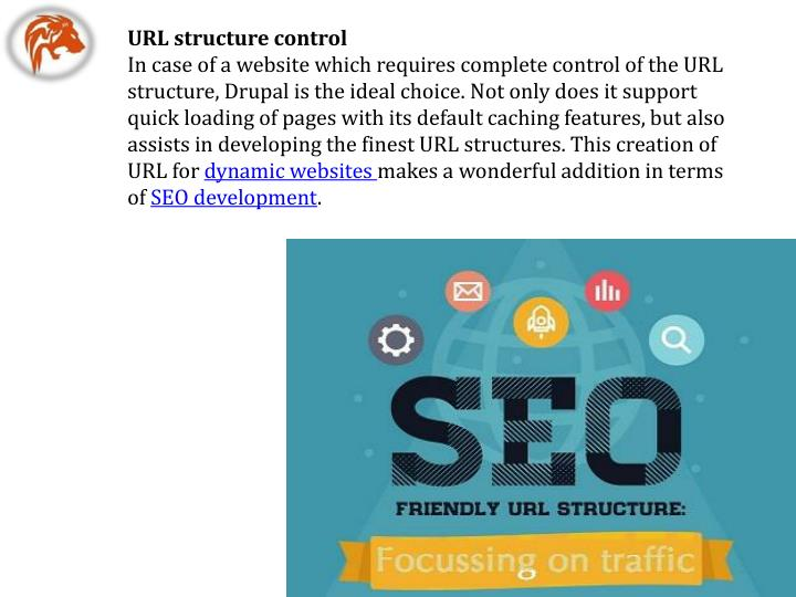 URL structure control
