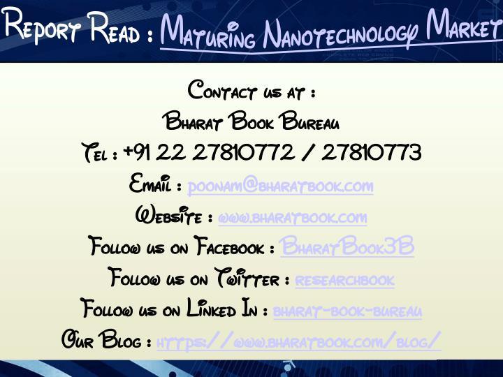 Contact us at :