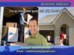 m elbourne removals