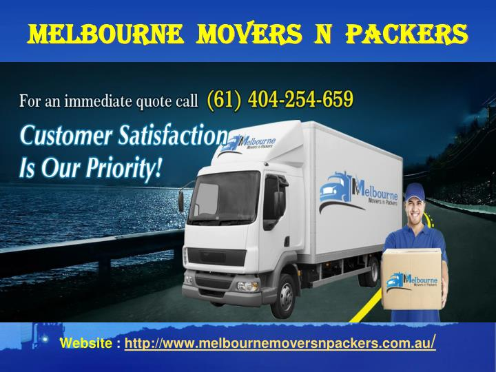 Melbourne movers n packers