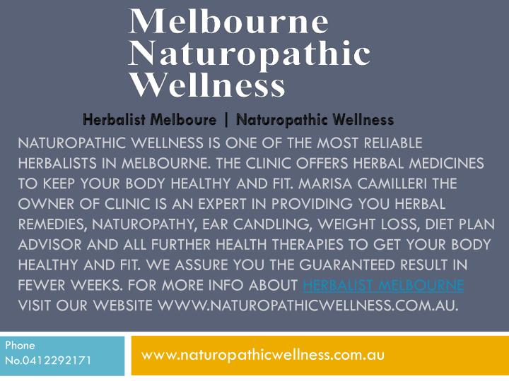 NATUROPATHIC WELLNESS IS ONE OF THE MOST RELIABLE