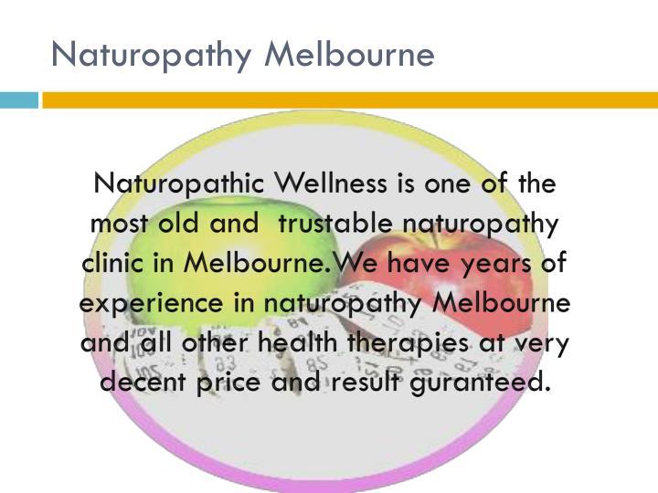 Naturopathy Melbourne