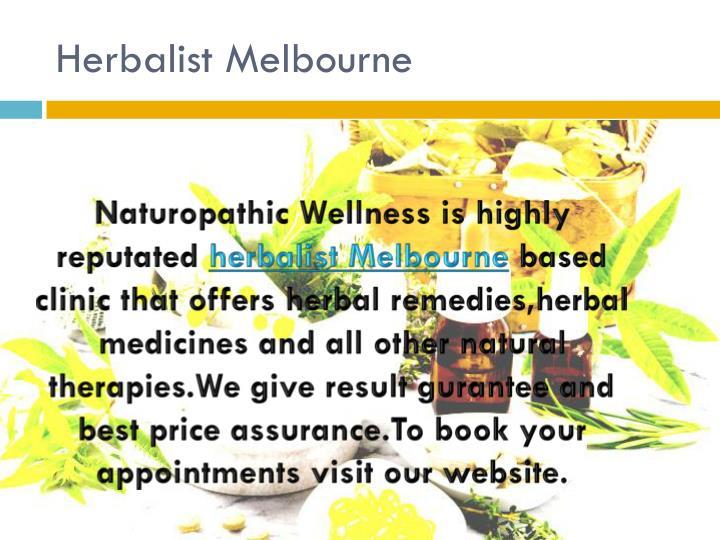 Herbalist Melbourne