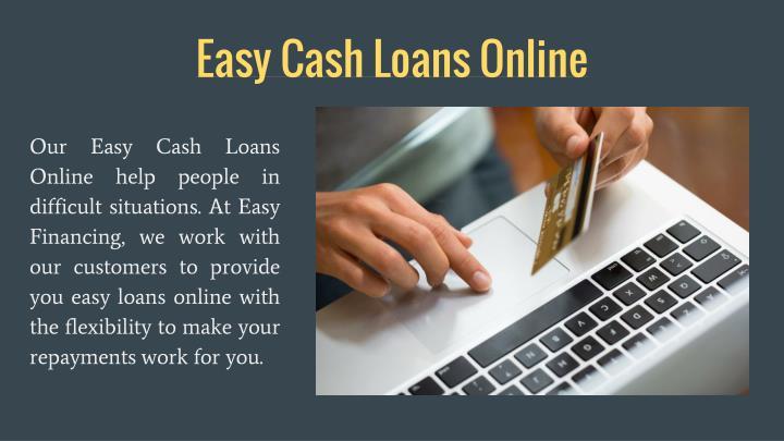 Easy Cash Loans Online