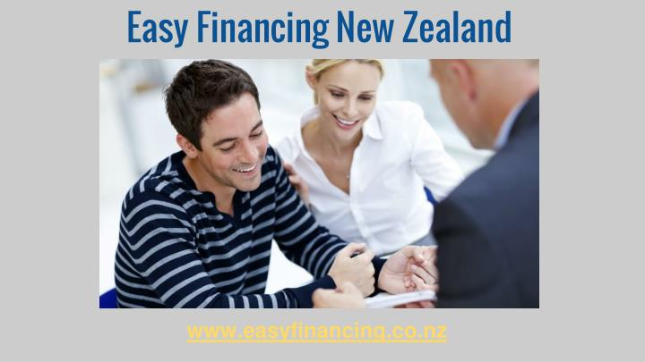 Easy financing new zealand