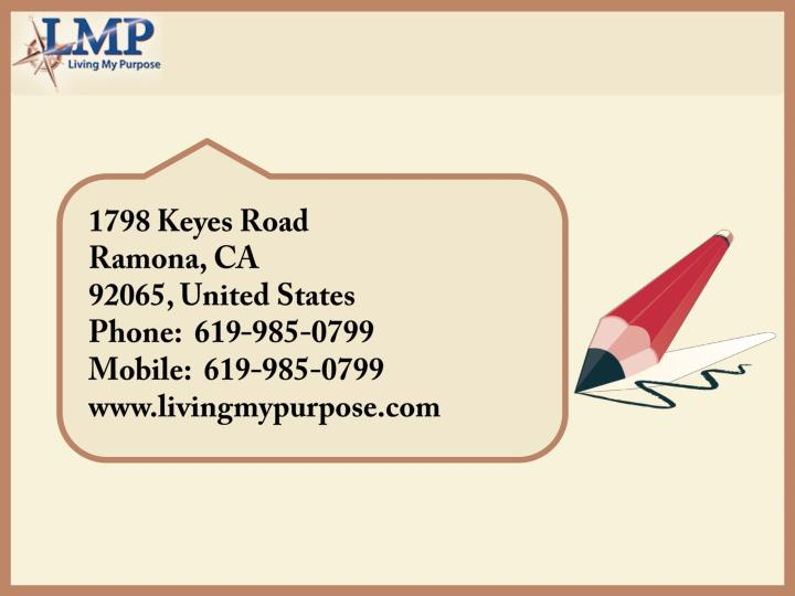1798 Keyes Road