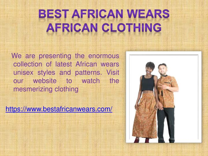 Best African Wears African clothing