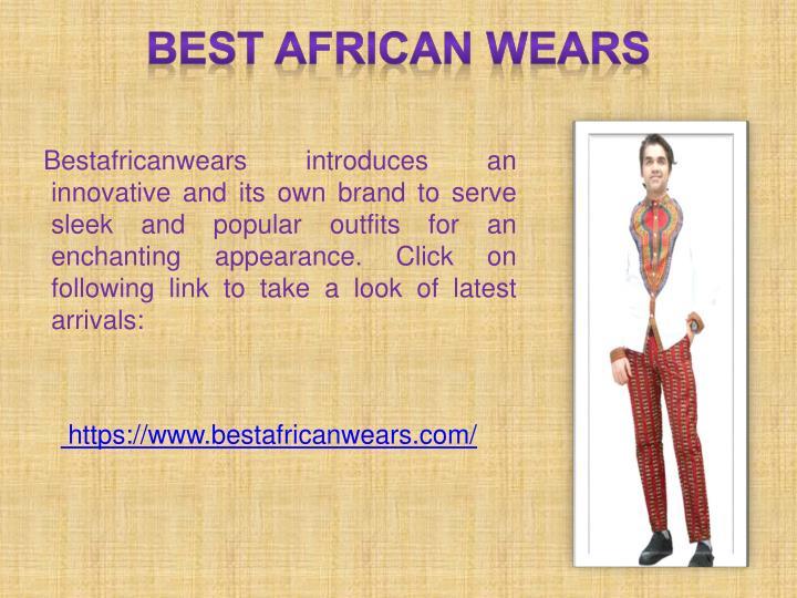 BEST AFRICAN WEARS