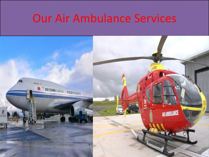 Our air ambulance services