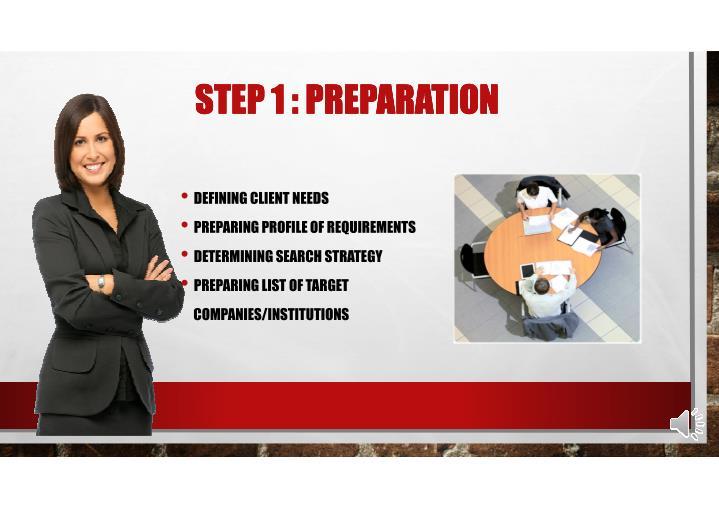 STEP 1 : PREPARATION