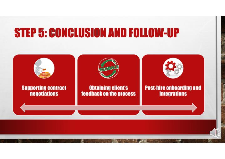 STEP 5: CONCLUSION AND FOLLOW