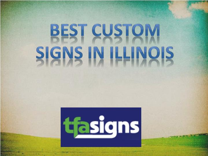 Best Custom Signs in