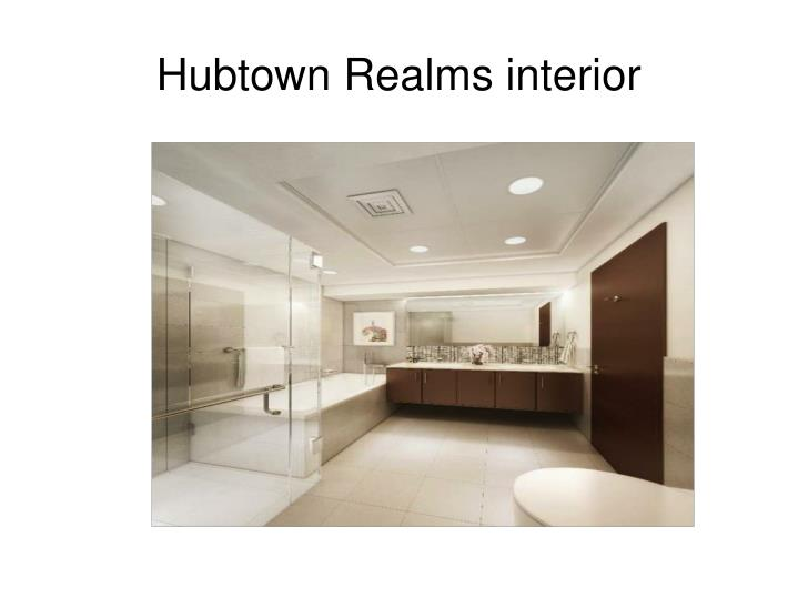 Hubtown Realms interior