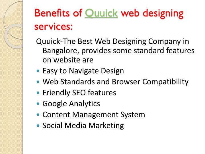 Benefits Of Using Web Design Companies In India