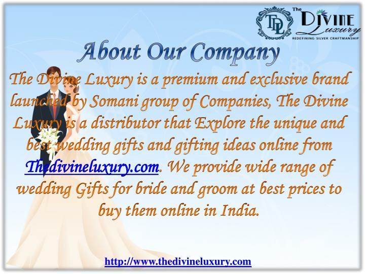 Unique Wedding Gifts Buy Online : - Send Unique Wedding Gifts Online in India Get Best Wedding Gifts ...