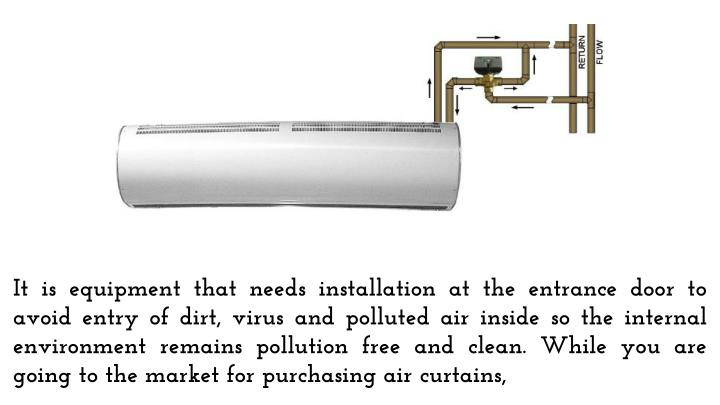 Ppt Install Heating Air Curtain To Enjoy Pollution Free Environment Powerpoint Presentation