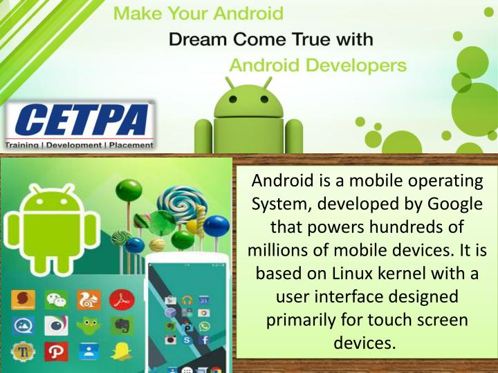 PPT - Android Training in Noida PowerPoint Presentation ...