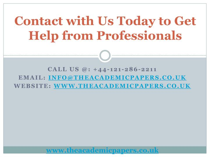 Us writing services professionals