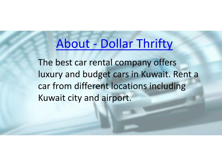 Dollar And Thrifty Car Rental Preflight Parking Iah