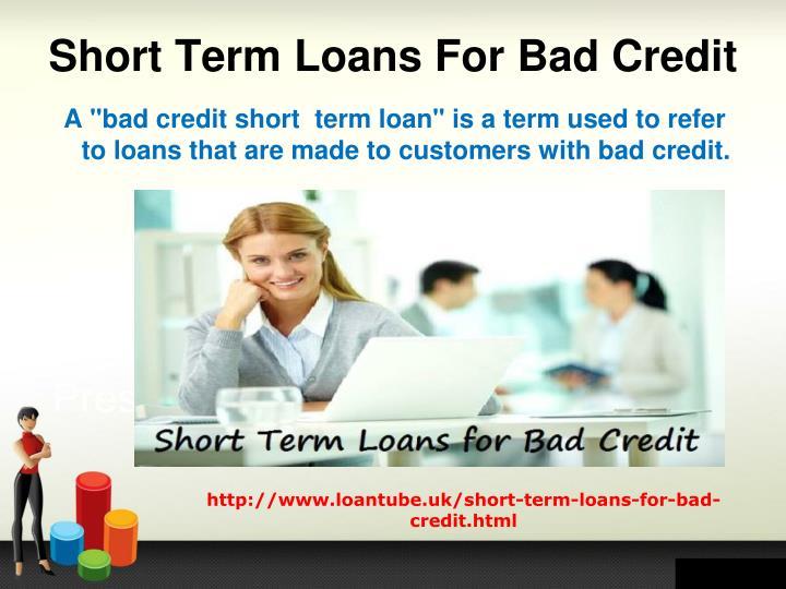 short tearm loans - 2