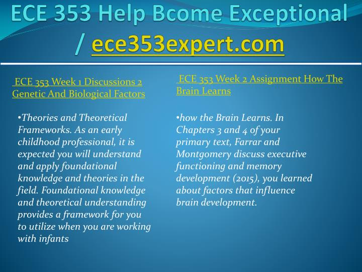 ECE 353 All Assignments