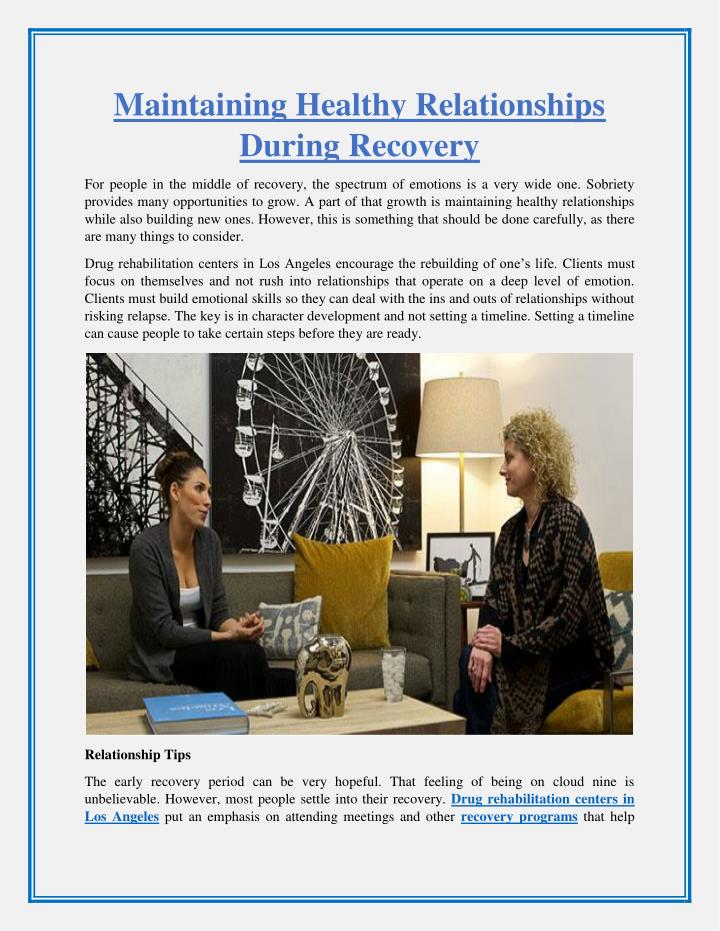 Maintaining An Ethical Capsule Wardrobe: Maintaining Healthy Relationships During Recovery