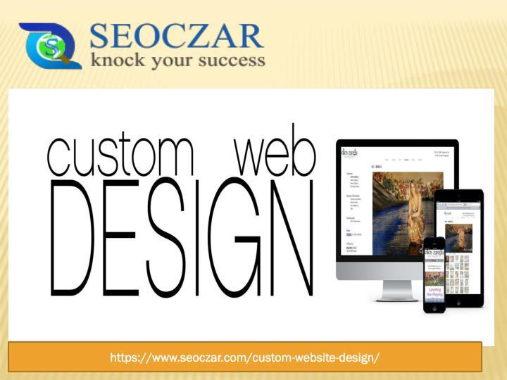 Ppt custom web design services best website designing for Custom design services