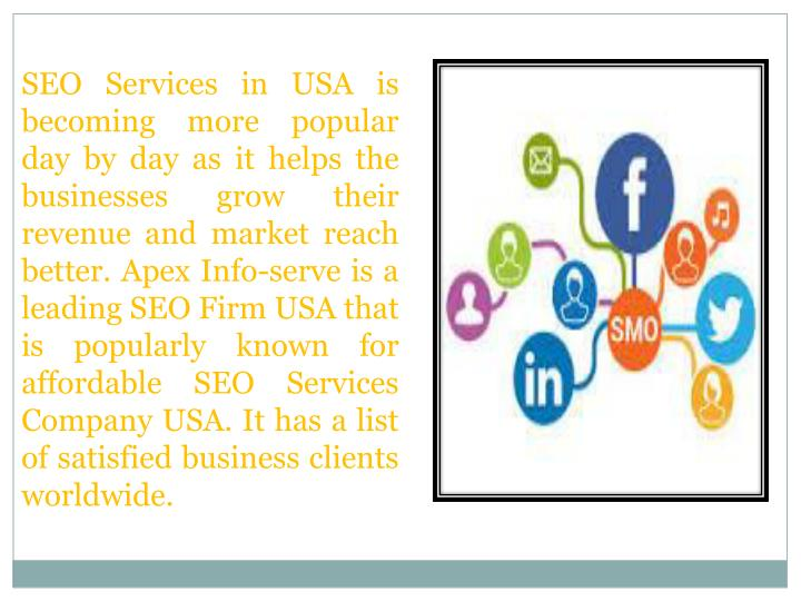 SEO Services in USA is becoming more popular day by day as it helps the businesses grow their revenu...