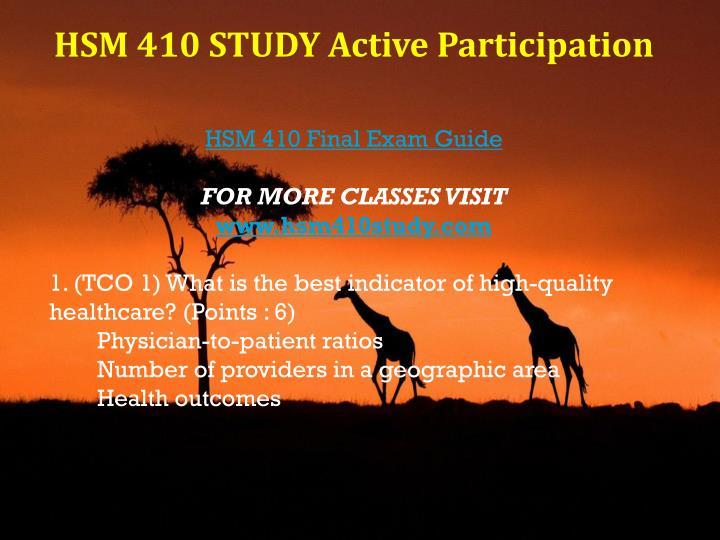 hsm 410 final exam
