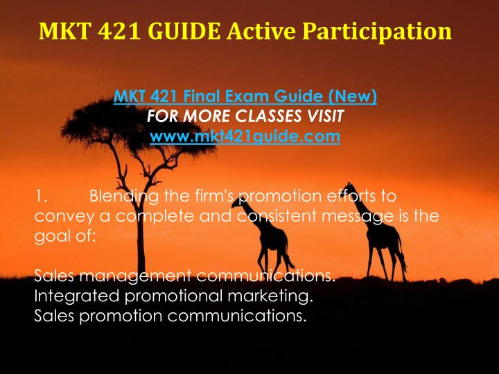 marketing plan powerpoint mkt 421 Here is the best resource for homework help with mkt 421 : marketing elements of a marketing plan report elements of a marketing plan report michelle mkt 421.