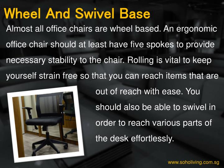 Wheel And Swivel Base