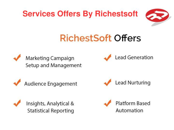 Services Offers By Richestsoft