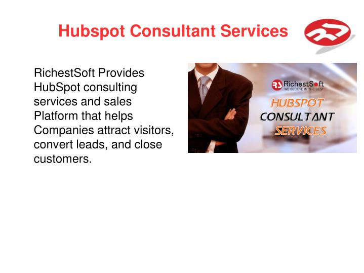 Hubspot Consultant Services