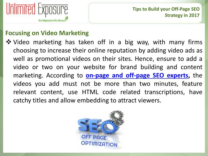 Tips to Build your Off-Page SEO